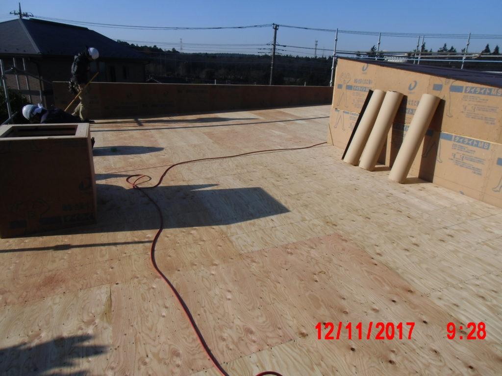 クラフトマンの家 屋根工事